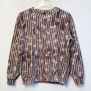 Alexander McQueen Floral Sweatshirt